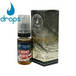 E-LÍQUIDO DROPS sabor AMERICAN LUXURY 12mg/ml 10ml