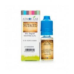 E-líquido ATMOS LAB NUTACCO Sin Nicotina 10ml