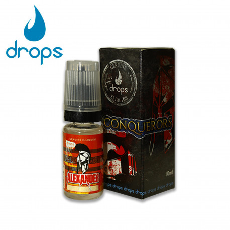E-líquido DROPS ALEXANDER 6mg/ml 10ml