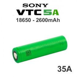 Batería recargable 18650 Sony VTC5A 2600mAh 35A