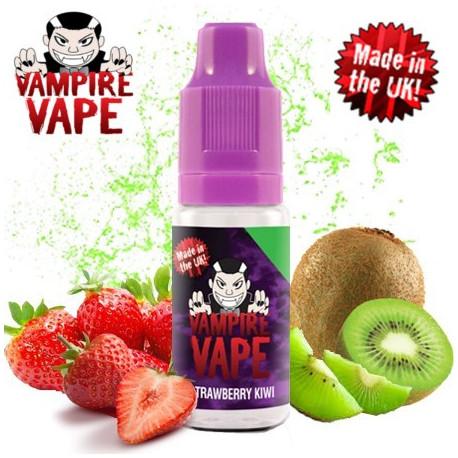 E-líquido Vampire Vape Strawberry & Kiwi Sin Nicotina 10ml