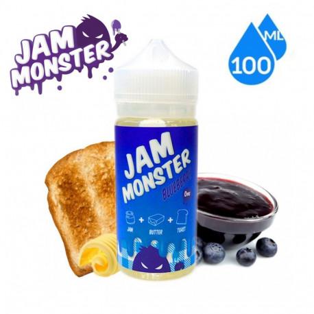 E-líquido Jam Monster Blueberry TPD 100ml Sin Nicotina