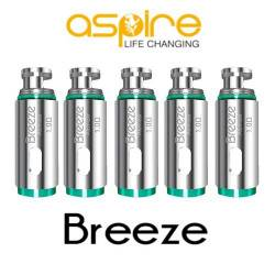 Resistencia 1.0 Ohm para Aspire Breeze 1 y 2