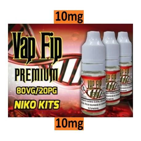 NICOKIT VAPFIP 10mg/ml 80VG/20PG 10ml
