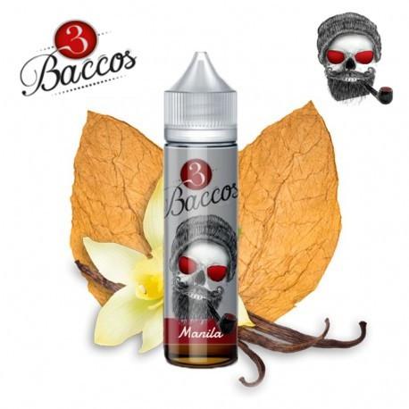 E-líquido 3 Baccos Manila TPD 50ml Sin Nicotina