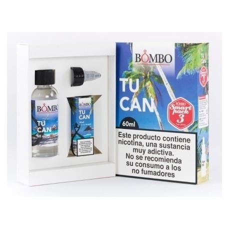 E-líquido BOMBO TUCAN 3mg/ml Smart Pack 60ml