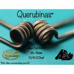 Lady Coils Querubinas 0.14 Ohms en Dual Coil