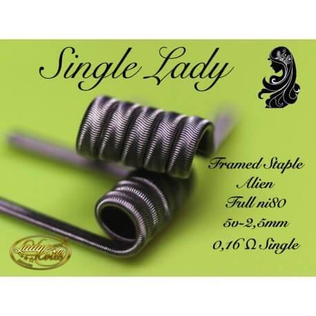 Lady Coils Single Lady 0.16 Ohms en Single Coil