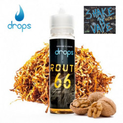 E-líquido DROPS Route 66 Shake 'n' Vape 3mg/ml 60ml