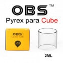 Depósito de pyrex para OBS Cube 2ml