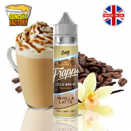 E-líquido Frappe Cold Brew Vanilla Latte TPD 50ml 0mg