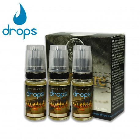 E-líquido DROPS FAUSTO'S DEAL 12mg/ml Tripack 3x10ml