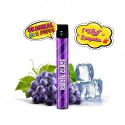 Pod desechable Wpuff 600 puffs Granizado de uva 1,7mg
