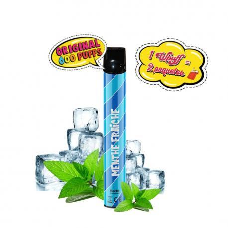 Pod desechable Wpuff 600 puffs sabor Tabaco M 1,7mg