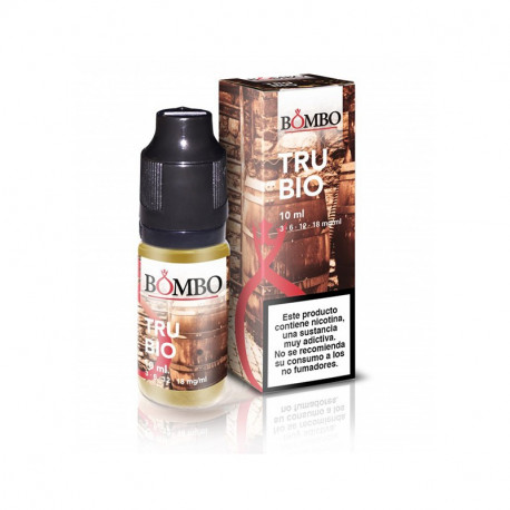 E-LÍQUIDO BOMBO sabor TRUBIO 12mg/ml 10ml
