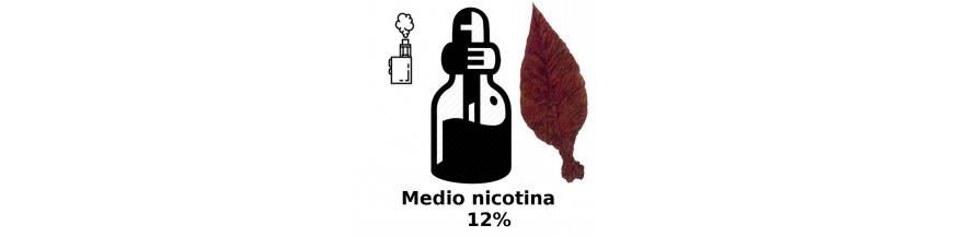 MEDIO NICOTINA ELIQUIDO VAPEO