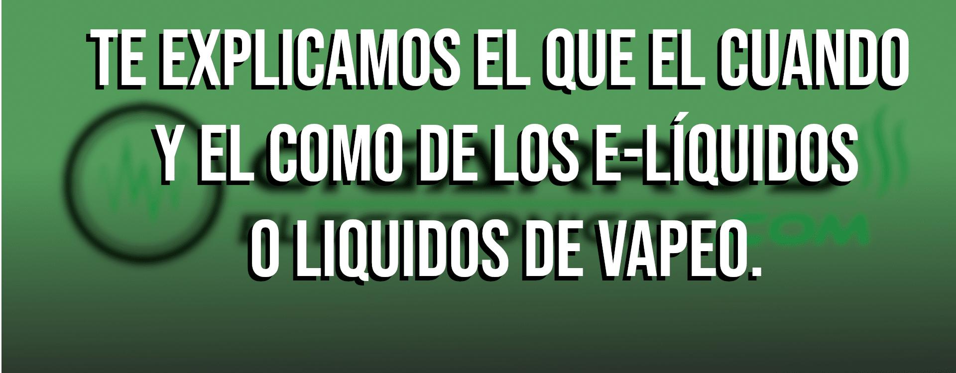E-liquidos